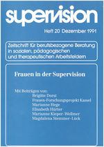 "Cover von ""supervision Nr. 20: Frauen in der Supervision"""