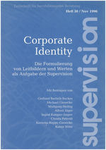"Cover von ""supervision Nr. 30: Corporate Identity"""
