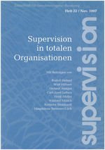 "Cover von ""supervision Nr. 32: Supervision in totalen Organisationen"""