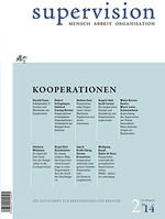 "Cover von ""supervision 2/2014: Kooperationen"""